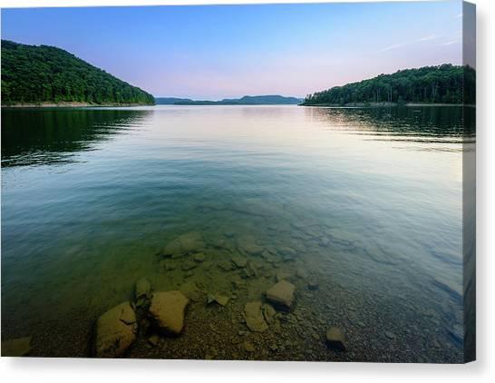 Majestic Lake Canvas Print