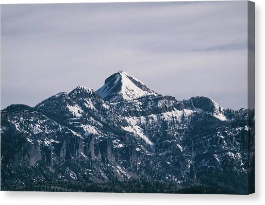 Canvas Print featuring the photograph Majestic Morning On Pagosa Peak by Jason Coward