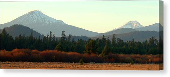 Majestic Mountains Canvas Print