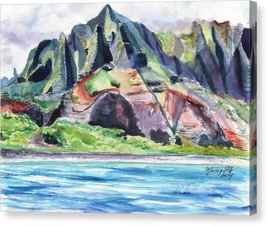Majestic Na Pali Coast Canvas Print