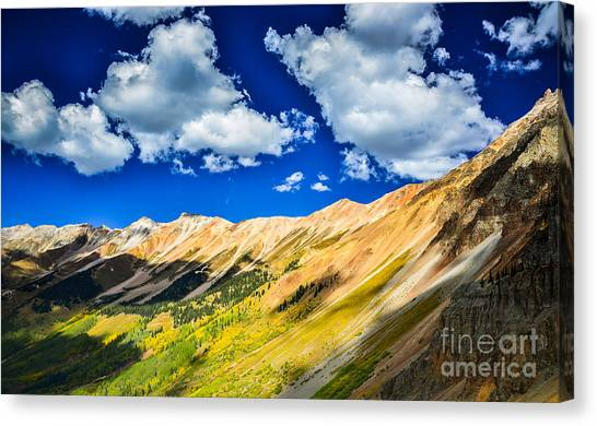 Majestic San Juan Mountains  Canvas Print by Scott and Amanda Anderson