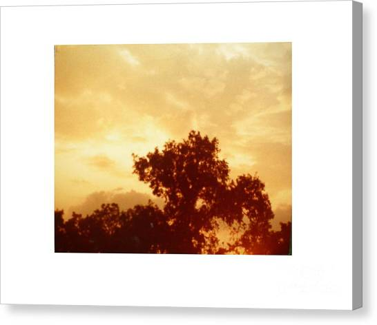 Majestic Sky Canvas Print by Hal Newhouser