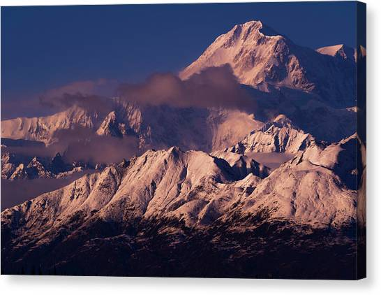 Denali Canvas Print - Majesty by Chad Dutson