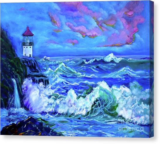 Makapuu Lighthouse 11 Jenny Lee Discount Canvas Print