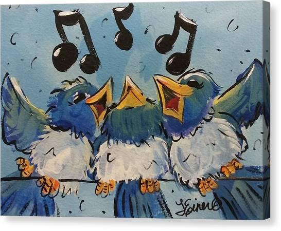 Make A Joyful Noise Canvas Print