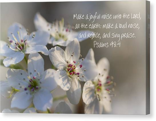 Make A Joyful Noise Unto The Lord Canvas Print