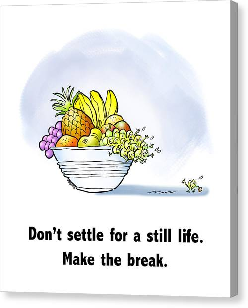 Make The Break Canvas Print