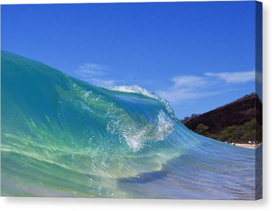 Makena Glass Canvas Print