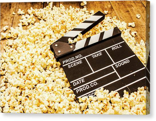 Popcorn Canvas Print - Making A Blockbuster by Jorgo Photography - Wall Art Gallery