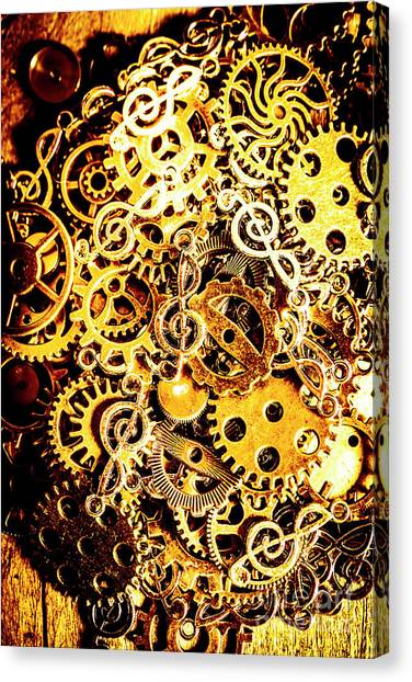 Punk Canvas Print - Making Music by Jorgo Photography - Wall Art Gallery
