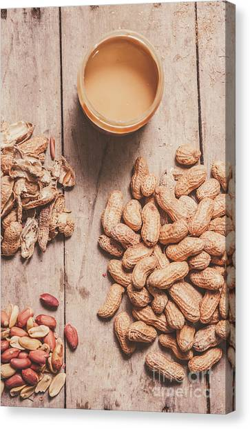 Making Canvas Print - Making Peanut Butter by Jorgo Photography - Wall Art Gallery