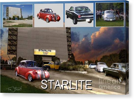 Making The Starlite Canvas Print by Tom Straub