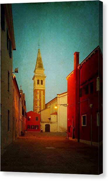 Malamocco Dusk No1 Canvas Print