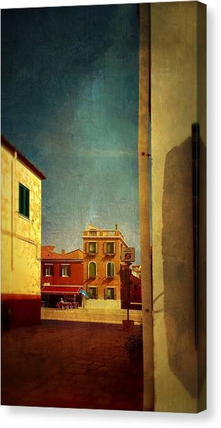 Malamocco Glimpse No1 Canvas Print