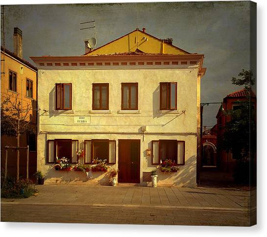 Malamocco House No1 Canvas Print