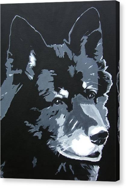 Malamutt Canvas Print