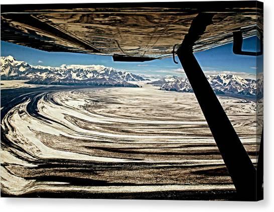 Malaspina Glacier Alaska Canvas Print