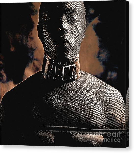Male Masked Canvas Print