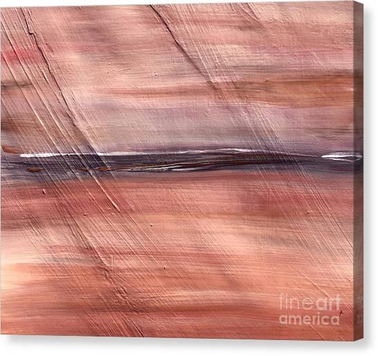 Malibu #32 Seascape Landscape Original Fine Art Acrylic On Canvas Canvas Print