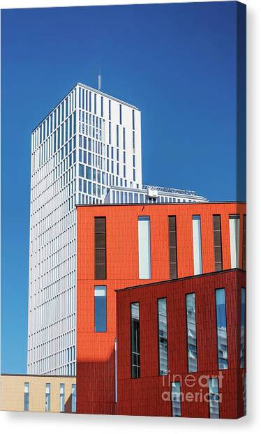 Western Conference Canvas Print - Malmo Live Building by Antony McAulay