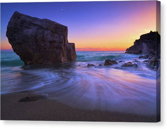 Malpasso Beach Canvas Print