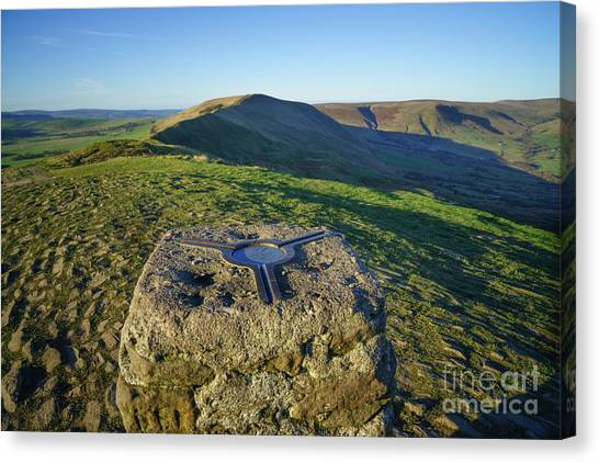 Peak District Canvas Print - Mam Tor Views by Smart Aviation