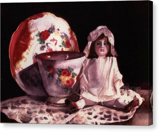 Mama's Doll Canvas Print by Patricia Halstead