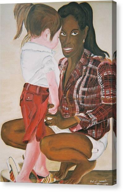 Mami Sandal Canvas Print by Desenclos Patrick