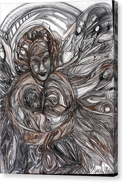 Mamie Canvas Print
