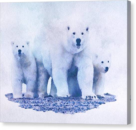 Mamma Bear  Canvas Print