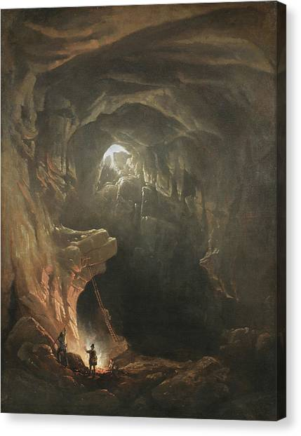 Mammoth Cave Canvas Print - Mammoth Cave by MotionAge Designs