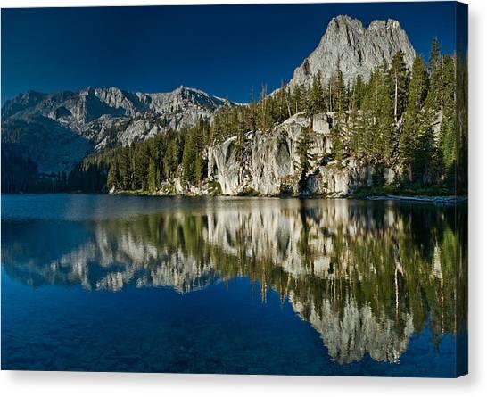 Mammoth Lakes Reflections Canvas Print