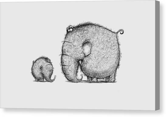 Mammothz Canvas Print