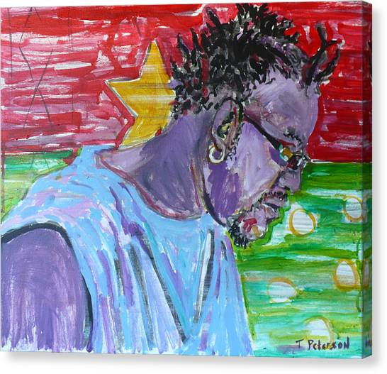 Man From Burkina Faso Canvas Print
