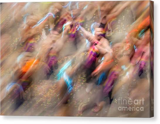 2015 Canvas Print - Man Overboard by Az Jackson