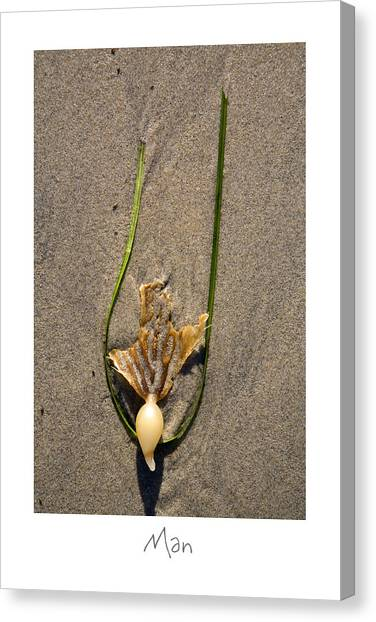 Man Canvas Print by Peter Tellone