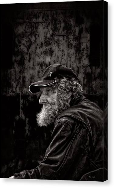 Citizen Canvas Print - Man With A Beard by Bob Orsillo