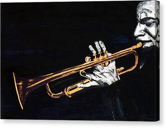 Man With The Horn -  Skip Martin   Canvas Print