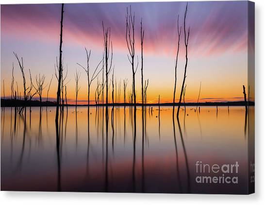 Manasquan Reservoir Long Exposure Canvas Print