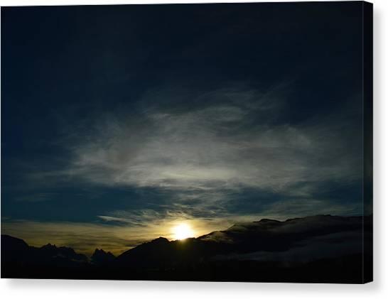 Manastash Sunrise Canvas Print