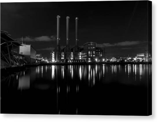 Manchester Street Power Station Canvas Print