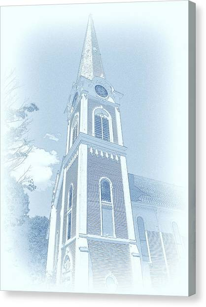 Manchester Vt Church Canvas Print