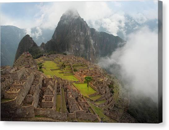 Manchu Picchu Canvas Print