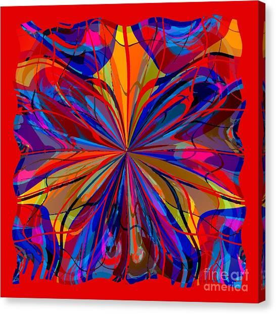 Mandala #4 Canvas Print