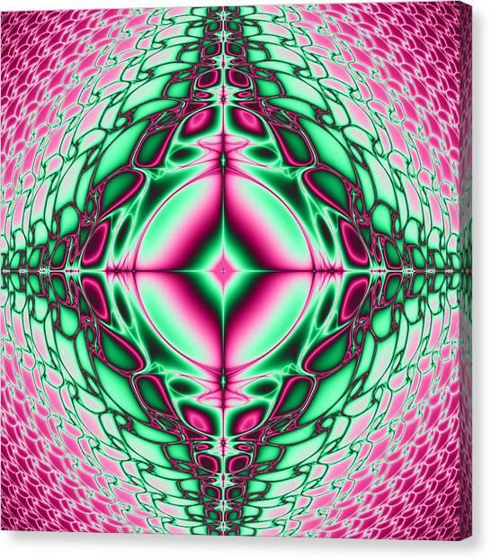 Mandala 8 Canvas Print by Sfinga Sfinga