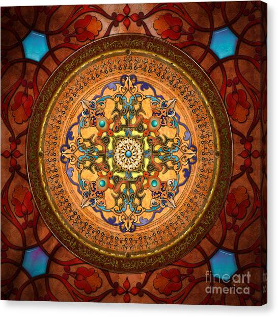 Mandala Arabia Canvas Print