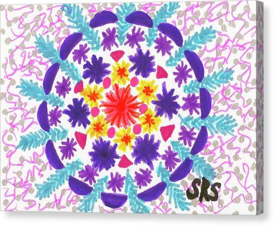 Mandala Magic Canvas Print