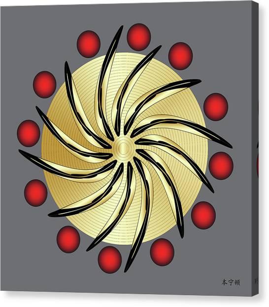 Mandala No. 14 Canvas Print
