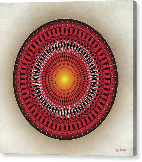 Mandala No. 32 Canvas Print