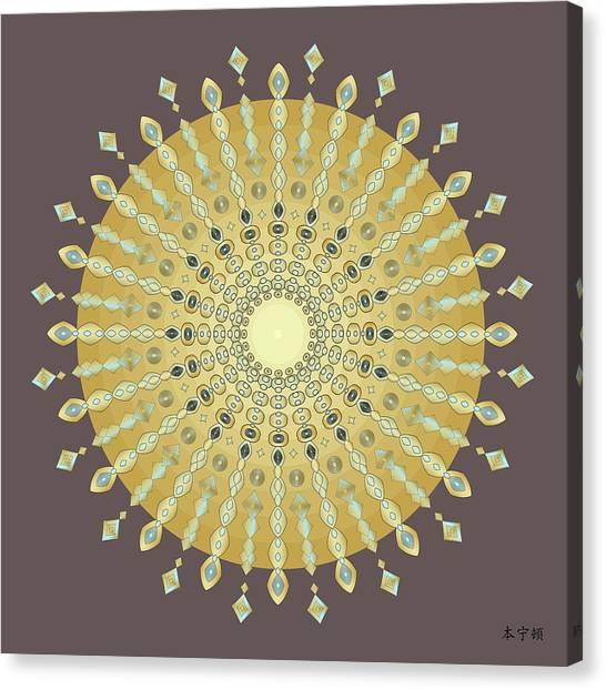 Mandala No. 9 Canvas Print
